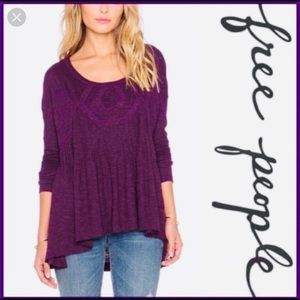 Free People Hope Babydoll Top